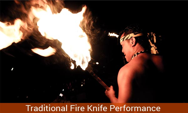 Traditional Fire Knife Dance